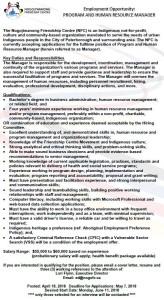 Program & HR Manager