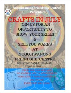 Crafts in July